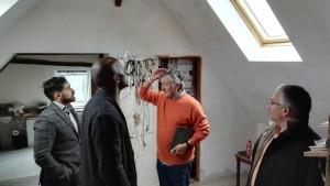 visite BOSCH - salle des centrales domotiques